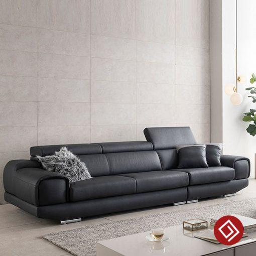 Sofa vang da 3 cho kd120 kdtvn