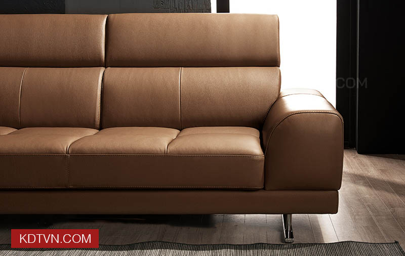 Sofa băng da 3 chỗ ngồi KD125