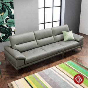 Sofa vang da 3 cho ngoi KD127 kdtvn