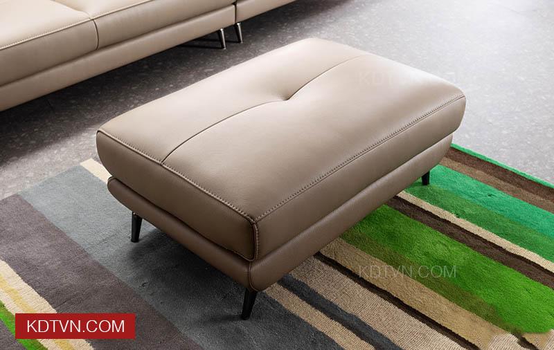 Sofa văng da 3 chỗ ngồi KD234