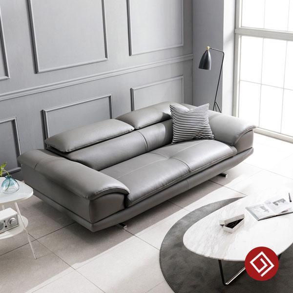 Sofa văng da 2 chỗ ngồi KD111