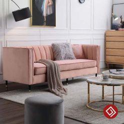 sofa vang ni nhung dep KD018 03