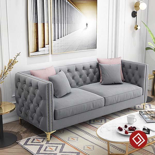 sofa vang ni nhung dep kd042