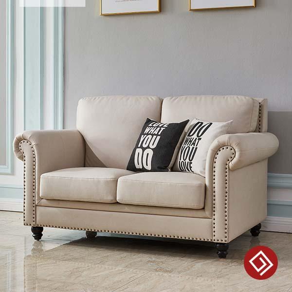 Sofa văng 2 chỗ tân cổ điển