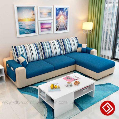 Sofa nỉ cho cho nhà nhỏ KD023