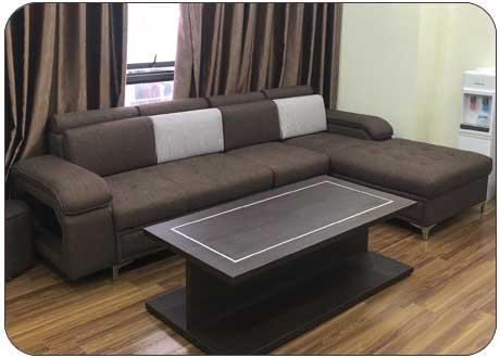 Mẫu sofa nỉ KD029