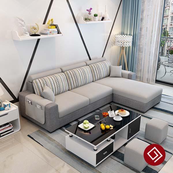 Mẫu sofa cho nhà nhỏ đẹp KD023E