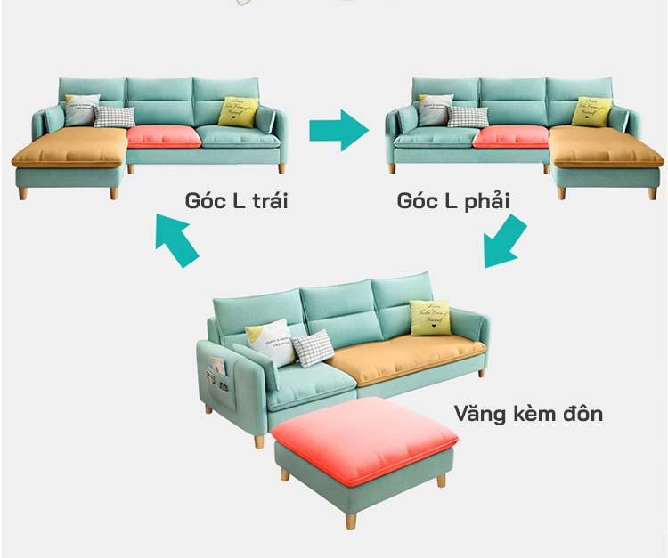 Sofa nỉ thông minh