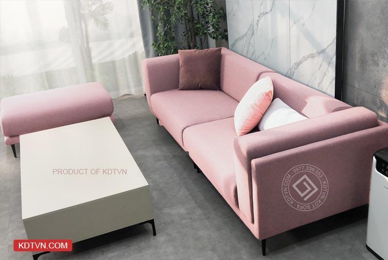 Bàn giao mẫu sofa KD099