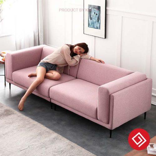 Sofa văng nỉ 2 chỗ ngồi KD099