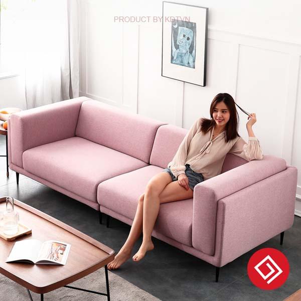 sofa vang 2 cho ngoi KD099