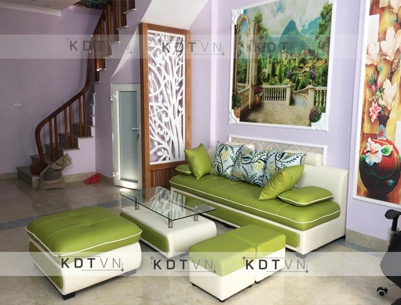 Bộ bàn ghế sofa nhà ống