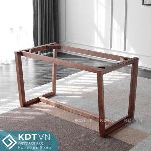 Chân bàn ăn gỗ sồi