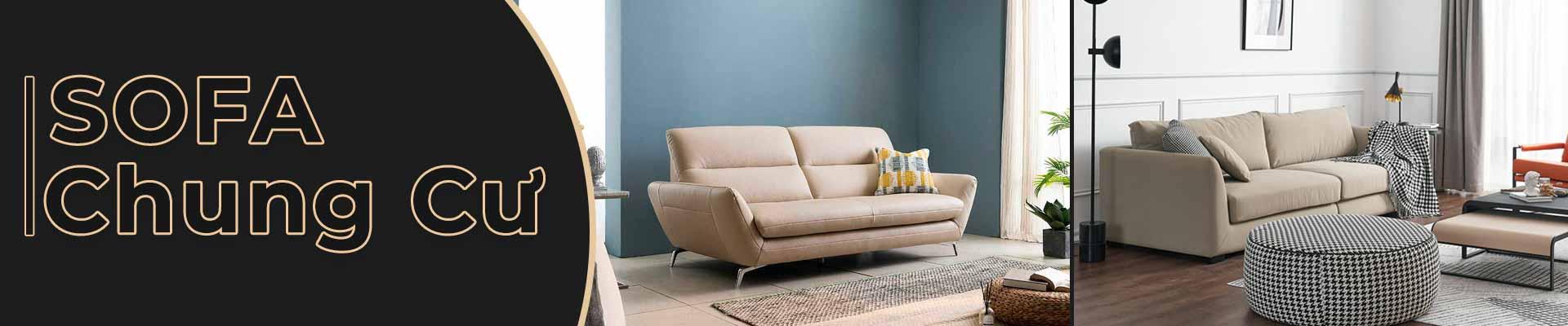 Sofa chung cư đẹp hiện đại
