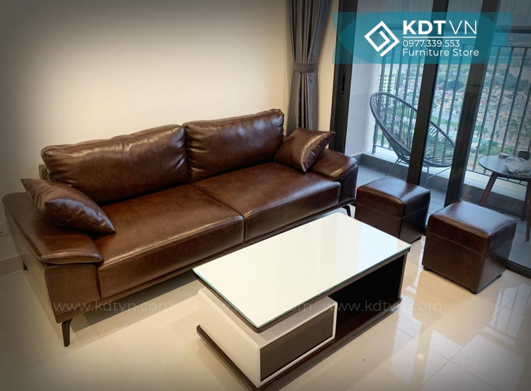 Sofa chung cư đơn giản